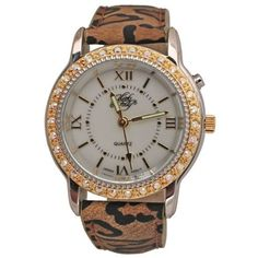 Boxed Kirks Folly Call Of The Wild Night Light Watch ❤ liked on Polyvore featuring jewelry and watches