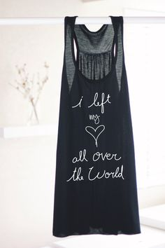 I Left My Heart All Over The World - Inspirational Quote Shirt - Travel Quote Shirt - Yoga Tank - Yoga Top - Yoga Clothes - Hippie Tank Top by ArimaDesigns on Etsy https://www.etsy.com/listing/285726549/i-left-my-heart-all-over-the-world