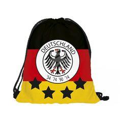 Fußball EM Rucksack Turnbeutel Gymbag Deutschland aus Großhandel und Import