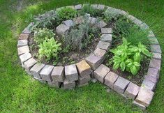 A mini garden for the yard Herb Garden Design, Garden Art, Herbs Garden, Back Gardens, Outdoor Gardens, Back Garden Landscaping, Outdoor Art, Outdoor Decor, Tiered Garden