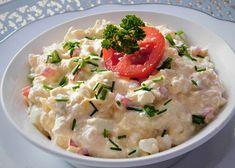 Cottage pomazánka s tvarůžky - TopRecepty.cz Potato Salad, Potatoes, Cottage, Cooking, Ethnic Recipes, Food, Red Peppers, Kitchen, Potato