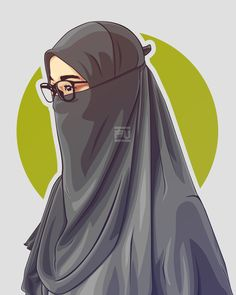 64 Best Hijab Vector Images In 2019 Muslim Women Face Veil Anime