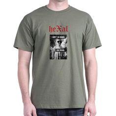 heXal - I Am Drugs T-Shirt  Drugs,quote, Salvador Dali, DSBM