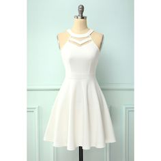Dama Dresses, Hoco Dresses, Dress Outfits, Fashion Outfits, Formal Dresses, Teen Dresses, Short Evening Dresses, Shift Dresses, White Homecoming Dresses