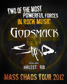 Mass Chaos Tour 2012 | Poster Design Concepts | Part I by Goge's Creative Design Team