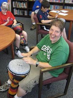 Latham Centers. . . Prader-Willi Syndrome and Beyond: African Drumming Is Good Medicine