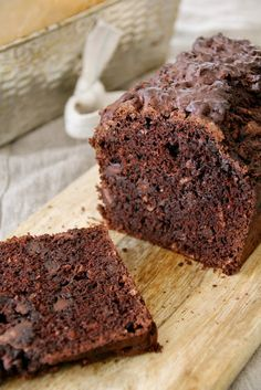 Chocolate and banana-bread? My Recipes, Bread Recipes, Baking Recipes, Cake Recipes, Streusel Muffins, Gluten Free Banana, Baking Tins, Afternoon Snacks, Healthy Sweets