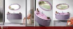 Voglia di osare con i colori? Prova a reinventare il tuo bagno con i nostri mobili, scopri le novità in sede