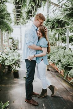 Stephanie + Jordan – Greenhouse Engagement Session – Maryland Wedding Photographer — Sincerely, The Kitchens