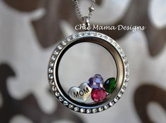 I love this necklace!!! I got it in gold. You can choose your own charms! This is my favorite necklace so far!