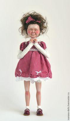 Купить Авторская кукла. Сюрприз - разноцветный, сюрприз, кукла, подарок с юмором, подарок на день рождения