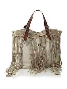 DENIM AND SUPPLY RALPH LAUREN Leather Tassel Bag