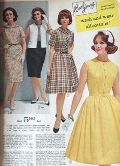 1964 (x) Wilhelmina second on left