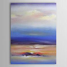 Pintados à mão pintura a óleo abstrata 1305-AB0566 de 593367 2016 por R$250,09
