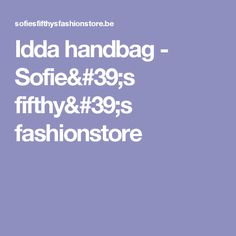 Idda handbag - Sofie's fifthy's fashionstore