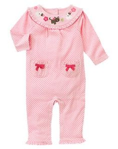 Again!  Love the kitty cats! - Kitty Dot One-Piece
