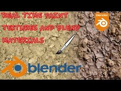 (11) Blender 3D Real Time Paint Mix Materials - YouTube