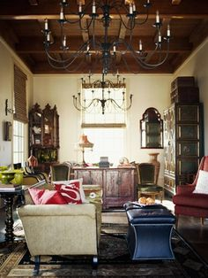 Image result for decorating with spanish colonial antiques