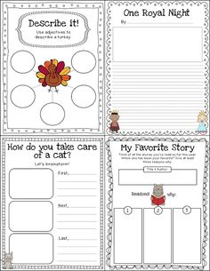 FREEBIE: Writing Paper (lined with drawing frame) Click on
