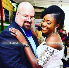 We are David and Genevieve Anderson👸🏾🤴🏼 It was love at first sight, he crossed a thousand rivers to get to me.he showed me what LOVE really means and until now it has been a great adventure 🇺🇸🇳🇬🇬🇭 Advice:Sincerity and Trust is vital and also put God first in all your future decisions. @davieve_empire ❤️🤍🖤💛💚💜💙🧡🤎 . . . #lovestory #bwwm #bwwmcouple #bwwmromance #blackandwhite #blackwhitedating #interracialmarriage #blackbride #melaninpoppin #blackqueen #blackwomenwhitemen #blackwo Black And White Dating, Dating Black Women, Interracial Marriage, Bwwm, Best Dating Sites, Black Bride, Black Queen, Love At First Sight, What Is Love
