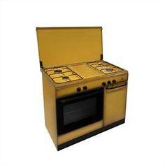Cucine a gas senza portabombola : Cucina a Gas 5 Fuochi Griglie in ...