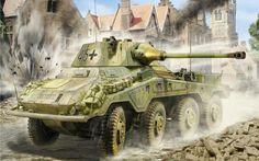 German Armored Car: SdKfz 234/3 Puma