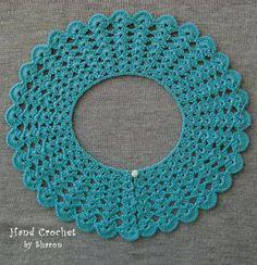 Crocheted Collar Peter Pan Collar Fashion by HandCrochetbySharon