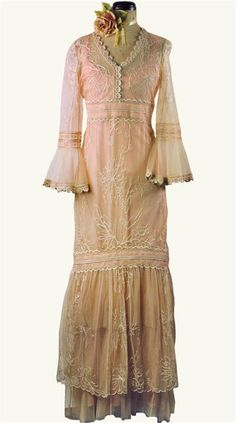Pink Champagne Dress by Victorian Trading Co.