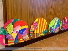Bunte Elefantenparade  Ihr alle kennt Elmar den Elefanten . Die meisten Kinder kennen Elmar ebenfalls, viele kennen ihn schon aus dem Kinder...