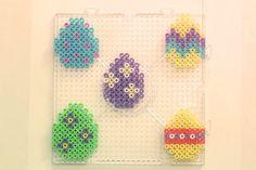 Easter eggs nabbi beads - DIY Sweden