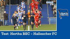 Test Hertha BSC - Hallescher FC - Highlights - Berlin - Bundesliga - Zus...