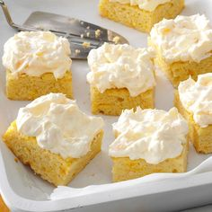 Pineapple Orange Cake Recipe -This is one of my favorite cakes… it's moist and light yet so satisfying. I've been adapting it for years and now it's almost guilt-free. —Pam Sjolund, Columbia, South Carolina.