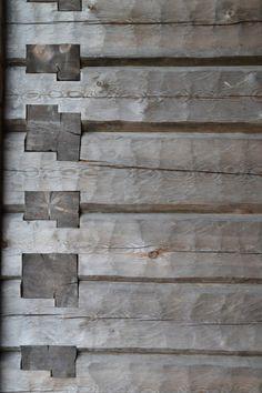workman: lartichaut: Wooden Joints Karsamaki Church, Karsamaki, Finland