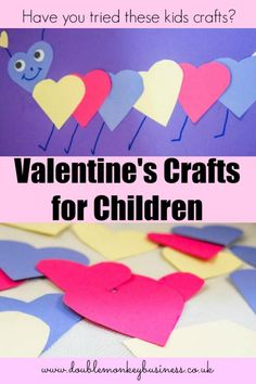 Have fun with your children this Valentine's. Why not try out these simple crafts with the kids.
