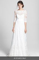 Marchesa Corded Lace Dress (In Stores Only)