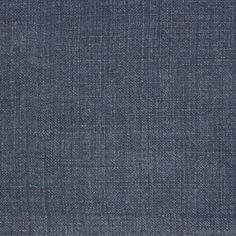 Stonewash Linen Fabric A plain linen fabric with a stonewash finish woven in indigo.