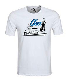 T-Shirt OSA2 – Koszulka damska i męska, wykonana z wysokogatunkowej bawełny czesanej z nadrukiem w technologii termotransferowej.