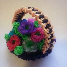 Tendance Bracelets Rainbow loom Flower Basket Tendance & idée Bracelets 2016/2017 Description Rainbow loom Flower Basket