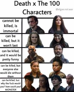 The 100 Cast, The 100 Show, It Cast, Lexa The 100, The 100 Clexa, Lexa E Clarke, The 100 Quotes, The 100 Characters, 100 Memes