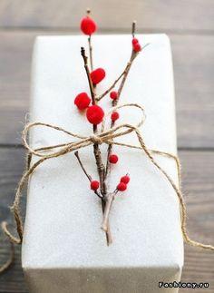 Упаковка подарков: идеи для Нового года