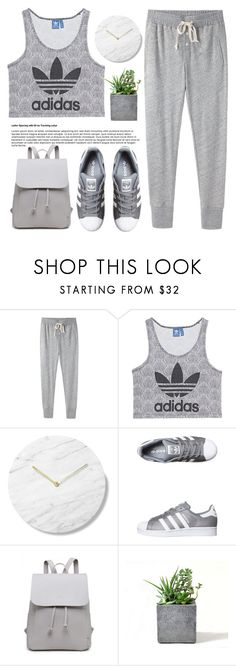 """""""show me you can handle this"""" by itaylorswift13 ❤ liked on Polyvore featuring Steven Alan, adidas Originals and Rough Fusion"""