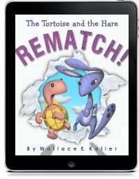The Tortoise and the Hare Rematch! See Here Studios Prek4-2 fables, good sportsmanship, perseverance