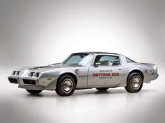 images of pace cars | Firebird Trans Am 6 L78 10th Anniversary Daytona 500 Pace Car