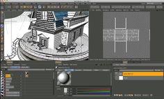 """Ce clip, a short video """"texture uv mapping with cinema 4D"""", est proposé par sur Vimeo, le site d'hébergement des vidéos de haute…"""