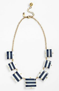 kate spade new york frontal necklace | Nordstrom