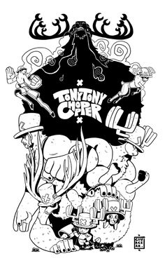 Tony Tony Chopper - by SoulKarl (Dan Ciurczak) - One Piece