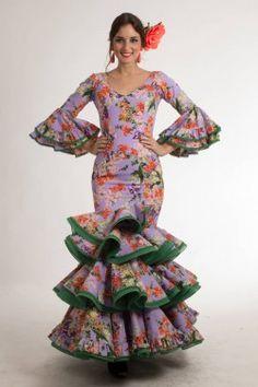 Traje de flamenca de Micaela Villa 2015: Azucena Lila 190€
