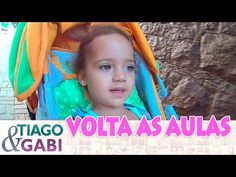 VOLTA AS AULAS ESCOLINHA NOVA - Tiago e Gabi