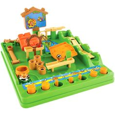 Screwball Scramble (one of my childhood's most favourite board puzzles)