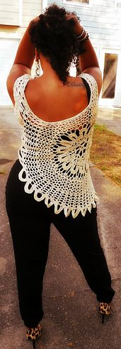 Ravelry: Lace Tank Top pattern by Gu'Chet